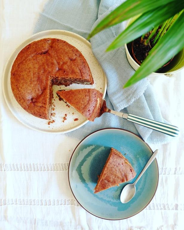Cake banane épices miel