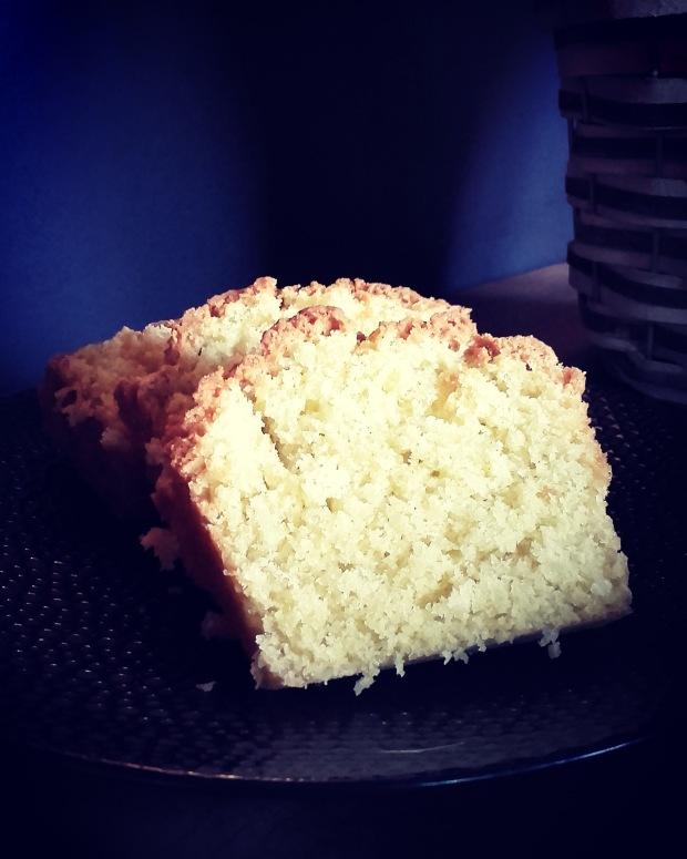 cake moelleux noix de coco et vanille