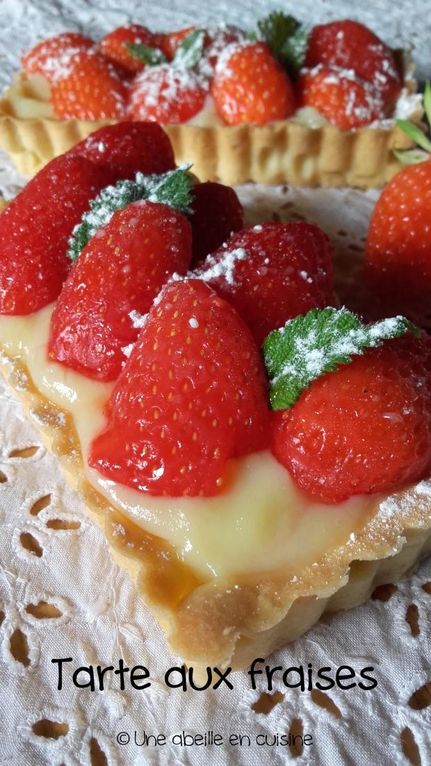 tarte aux fraises copie