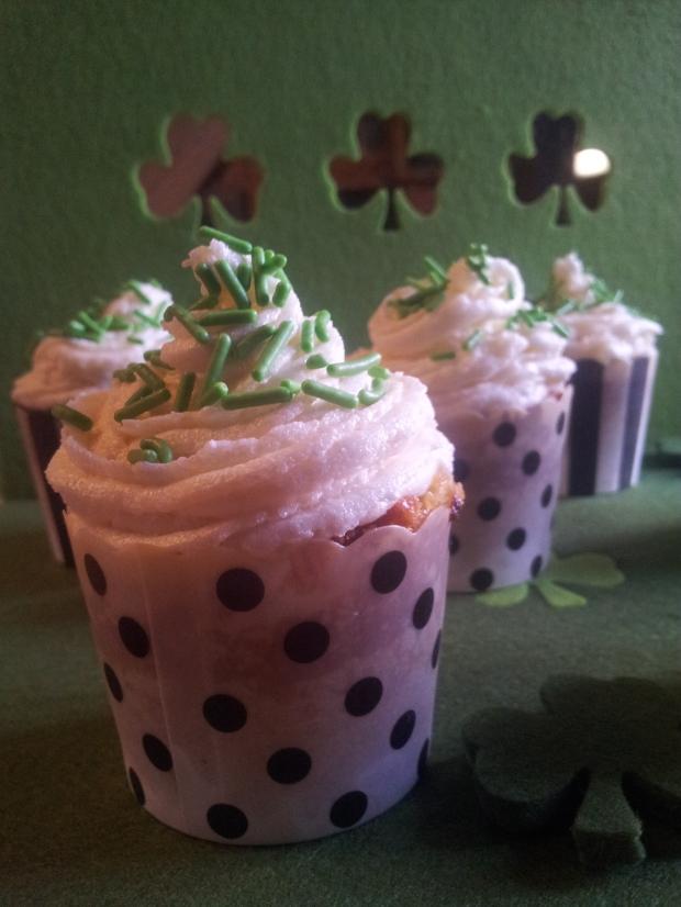 cupcakes irlandais