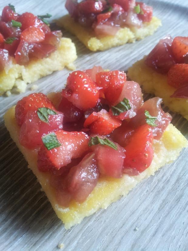 tartare tomate fraise
