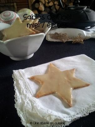 Sables miel / épices