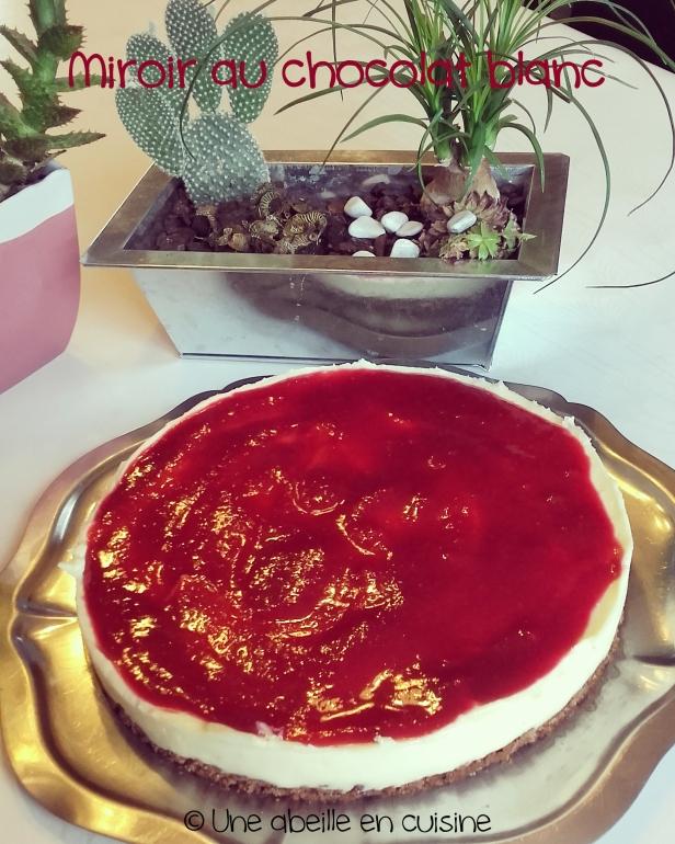 cheesecake chocolat blanc compotée framboise copie