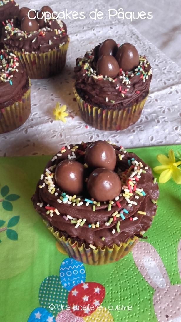 cupcakes de Pâques copie