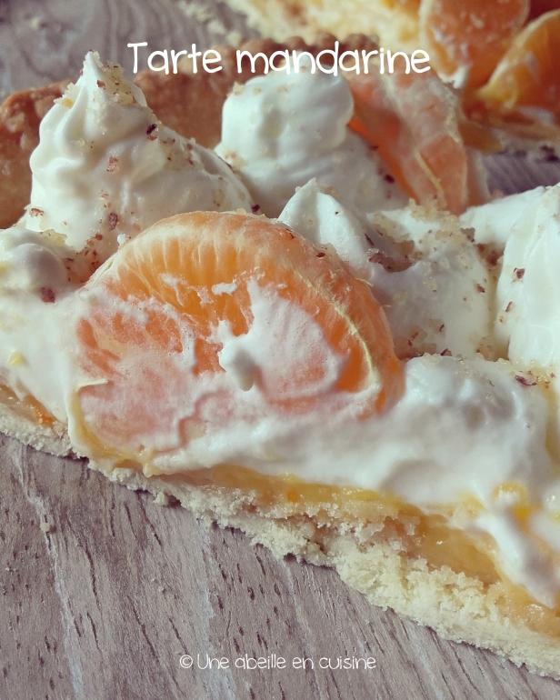 tarte mandarine