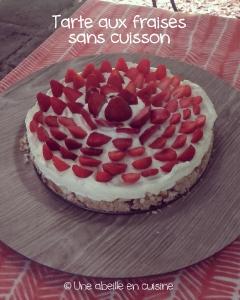 tarte aux fraises sans cuisson copie