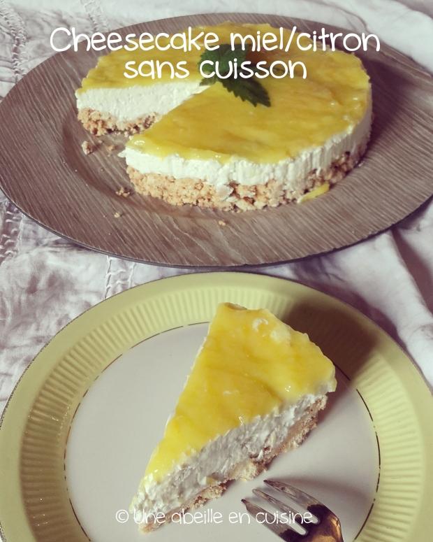 cheesecake miel citron copie