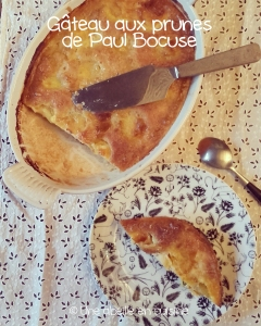 gâteau aux prunes Paul Bocuse copie