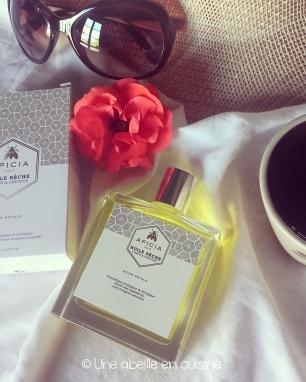 huile sèche visage, corps et cheveux Apicia