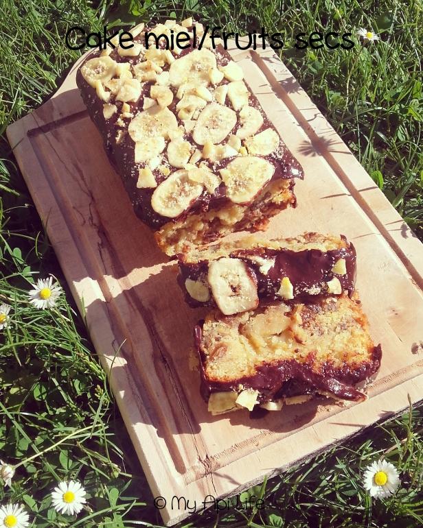cake aux fruits secs et au miel