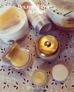Baume à lèvres au miel