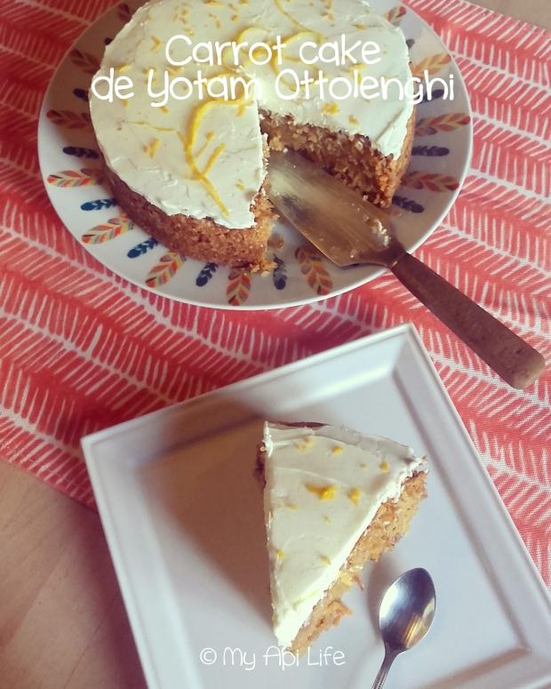 carrot cake de Yotam Ottolenghi
