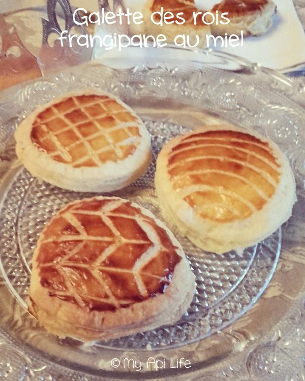 galette des rois frangipane au miel