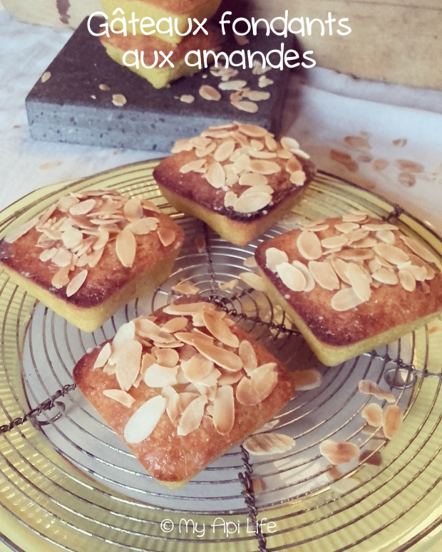 gâteaux fondants aux amandes