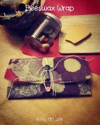 beeswax wraps pochette