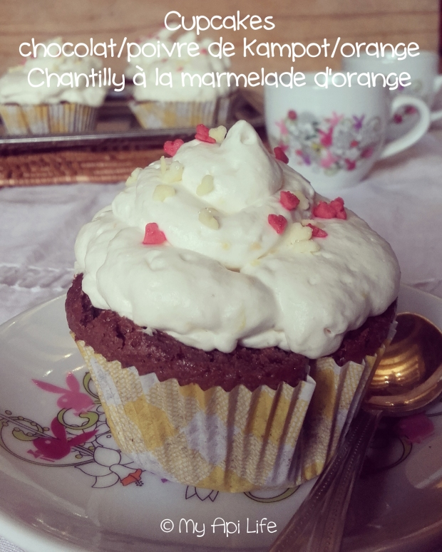 cupcakes chocolat poivre orange
