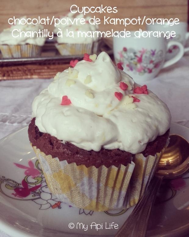 cupcakes chocolat poivre orange