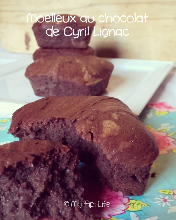 moelleux au chocolat Cyril Lignac