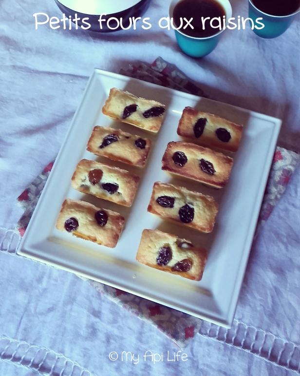 petits four aux raisins