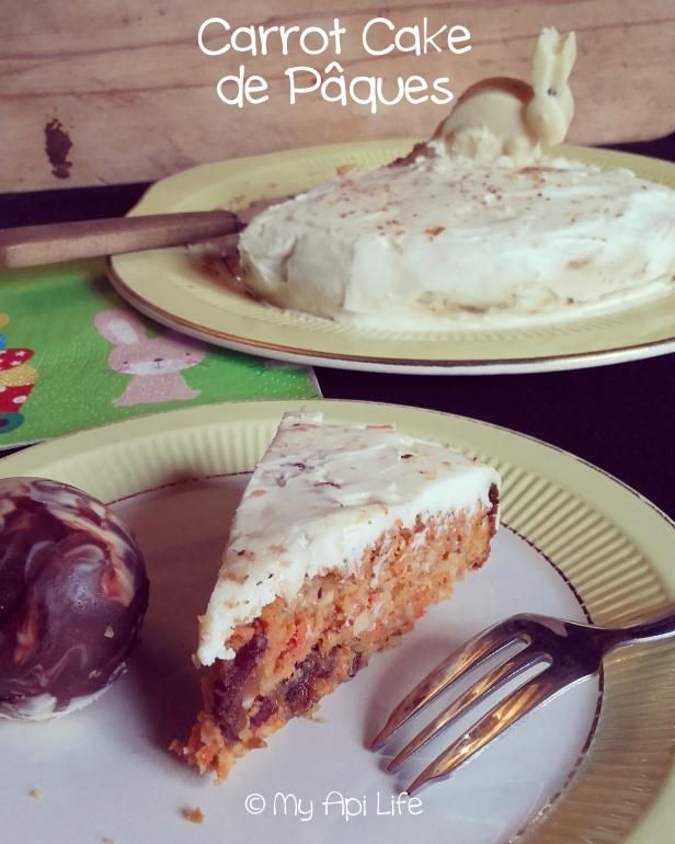 Carrot de cake de Pâques