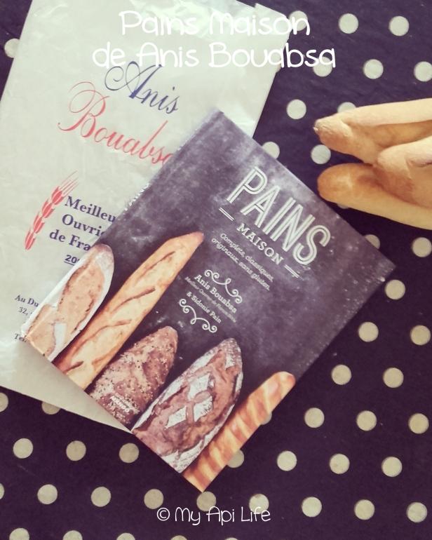 livre Pains Maison de Anis Bouabsa