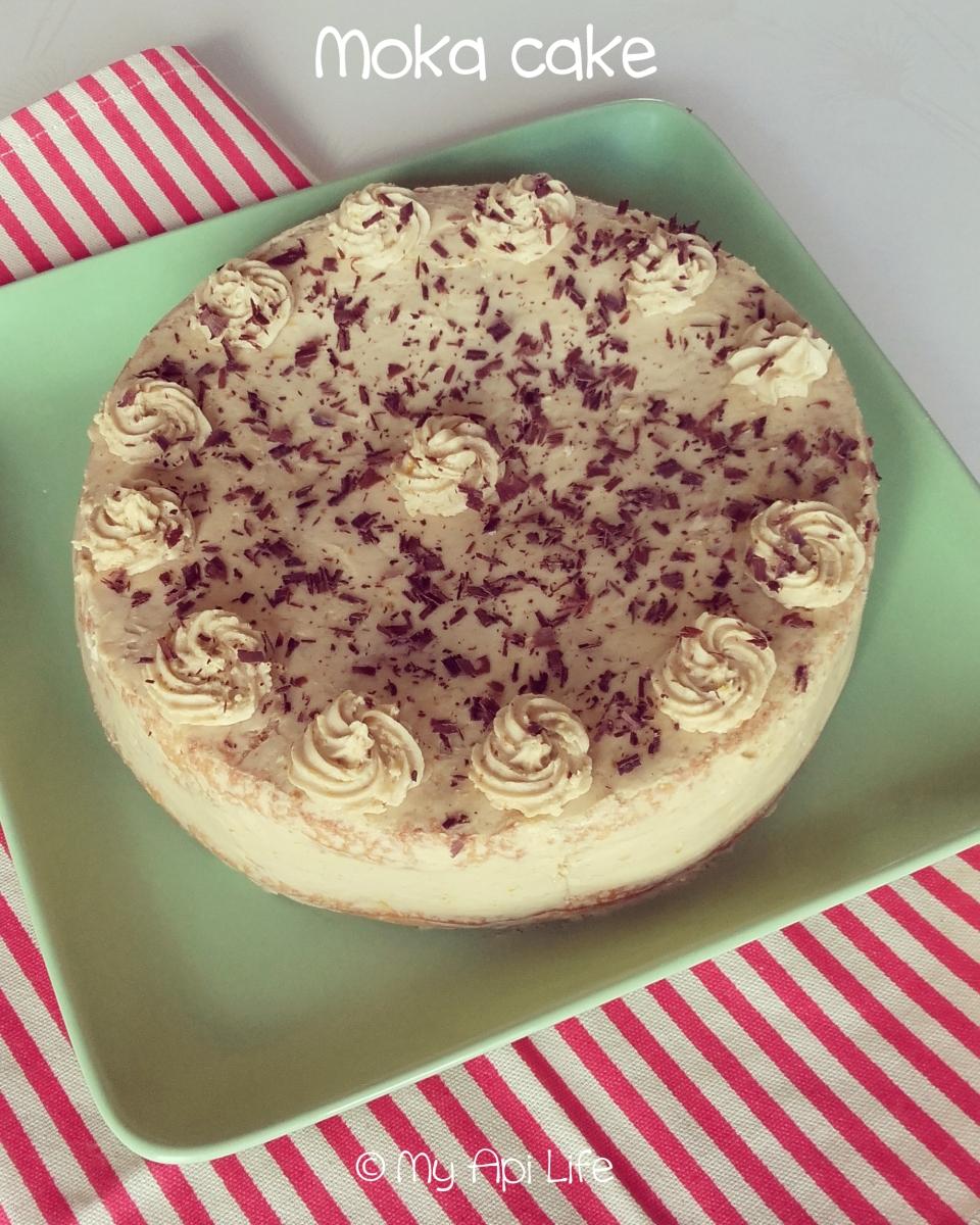 Moka cake gâteau au café