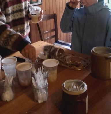 Musée vivant de l'apiculture: dégustation