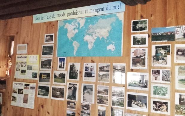 Musée vivant de l'apiculture: tous les pays du monde produisent et mangent du miel