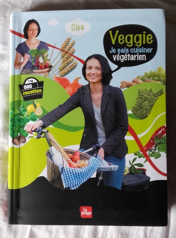Veggie, je sais cuisiner végétarien de Cléa