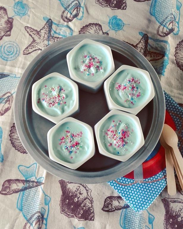 crème glacée au curaçao