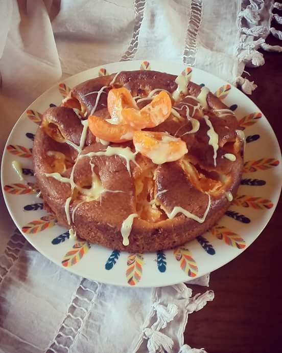 gâteau moelleux aux abricots et au mascarpone