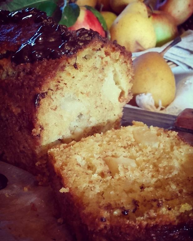 cake poire amande