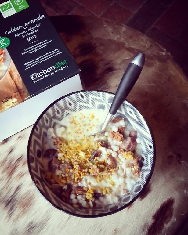 golden granola Kitchendiet
