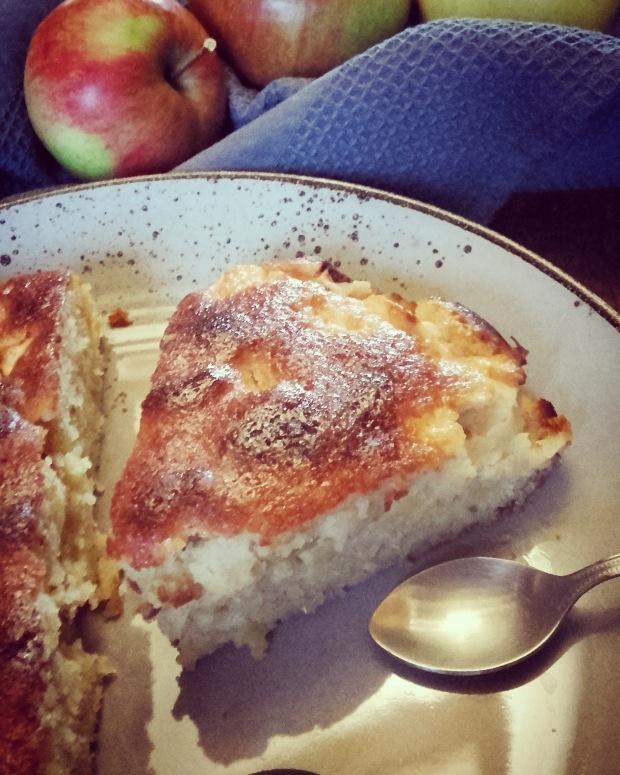 Gâteau au yaourt pomme amande