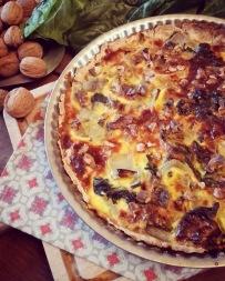 tarte aux blettes et aux noix