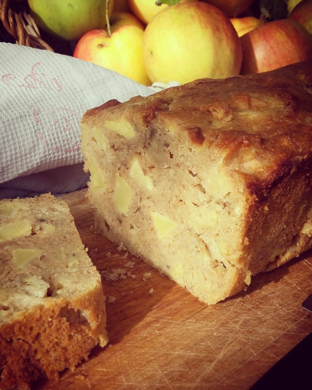banana bread aux pommes