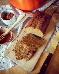 cake potimarron miel épices