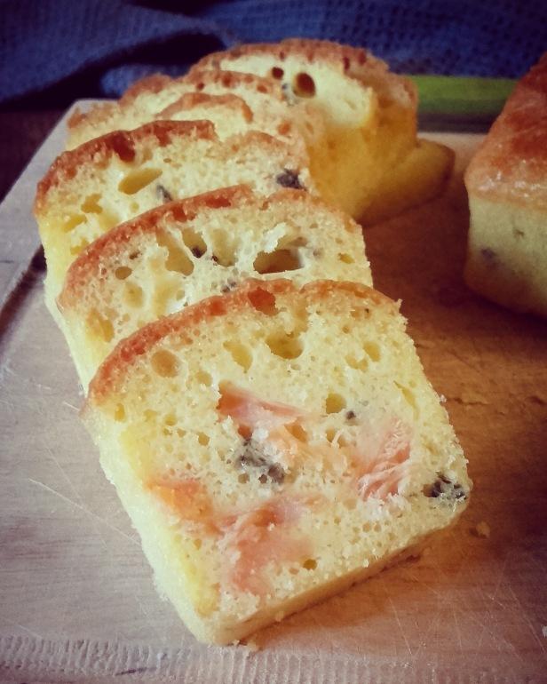 mini cakes truite fumée et citron