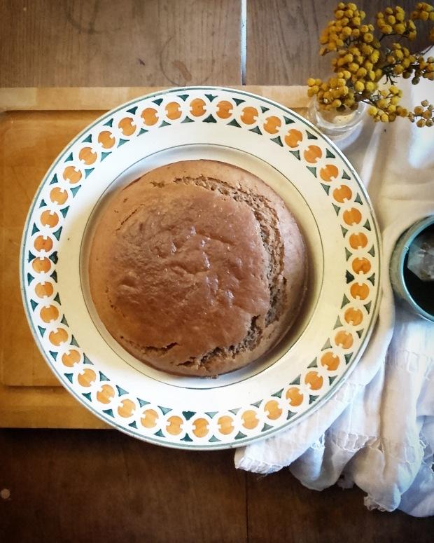 Gâteau au yaourt à la farine de sorgho
