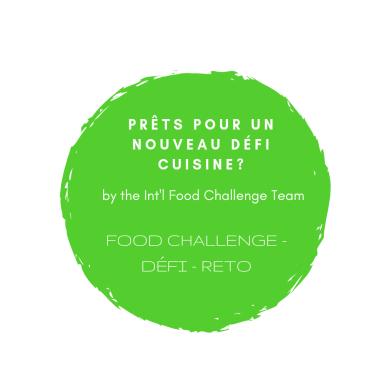 International Food Challenge April 2019 FR