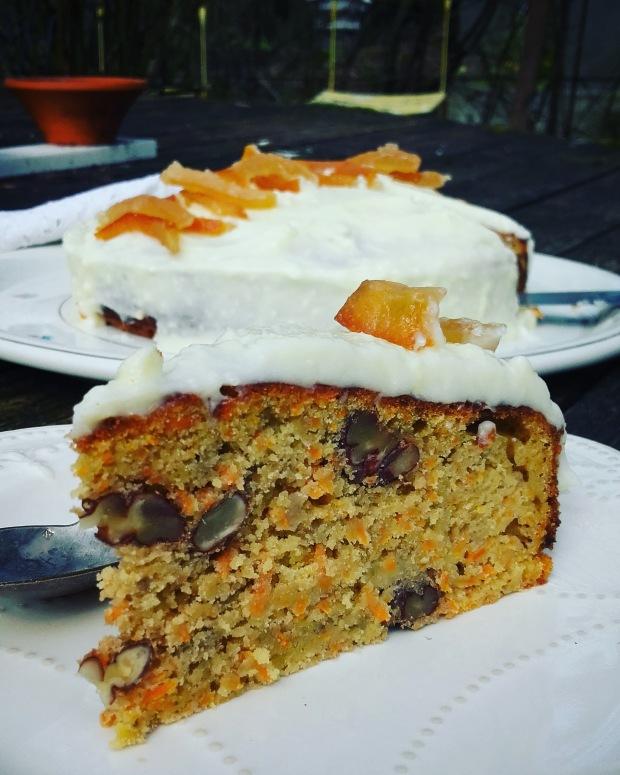 carrot banana cake