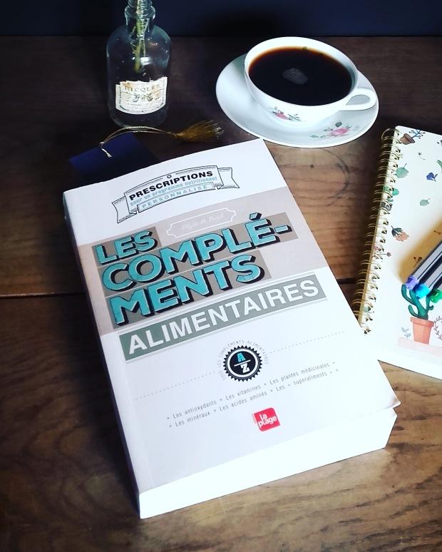 Livre Les compléments alimentaires, éditions La Plage