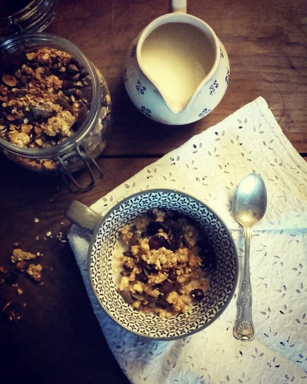Granola au miel et fruits secs