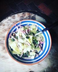 salades de courgettes crues