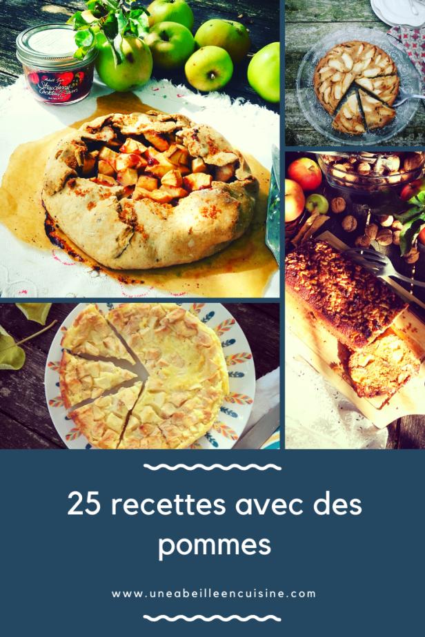 25 recettes avec des pommes