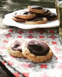 sablés chocolat sans gluten sans lactose