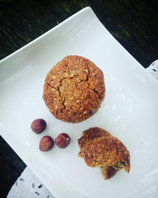 Cookies au sarrasin et à la noisette