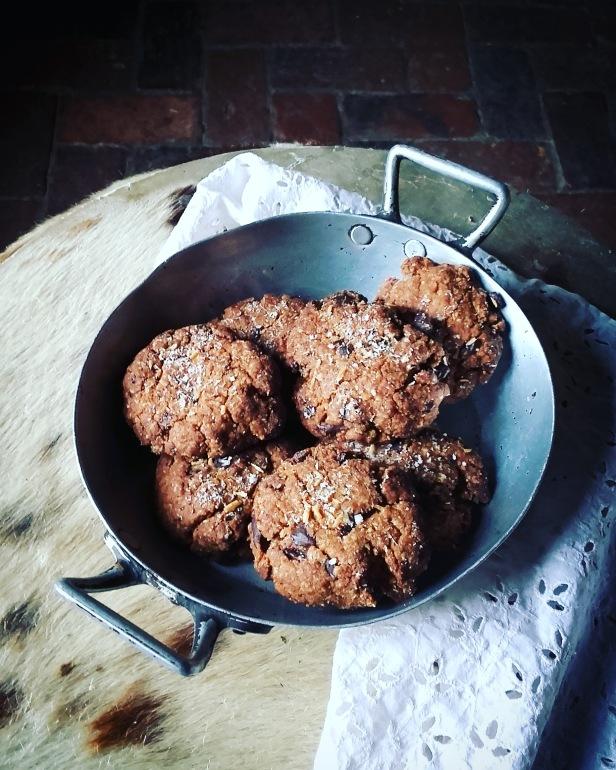 Cookies paléo coco chocolat de Jennifer Hart-Smith