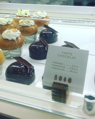 Yann Couvreur pâtisserie: tarte chocolat