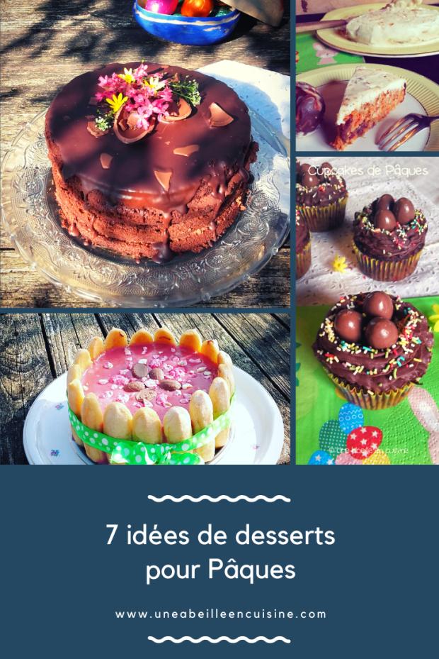 7 idées de desserts pour Pâques